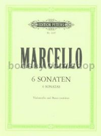 Six Sonatas, Op. 2 for Cello