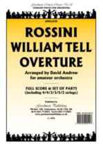 William Tell Overture (arr. amateur orchestra) score/parts