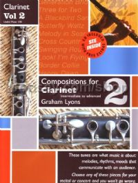Compositions for Clarinet vol.2: Intermediate to Advanced (Book & CD)