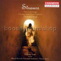 "Four Last Songs (""Vier Letzte Lieder"") Op Posth. (Chandos Audio CD)"