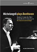 Michelangeli Plays Beethoven (Opus Arte DVD)