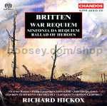 War Requiem Op. 66/Sinfonia da Requiem Op. 20/Ballad of Heroes Op. 14 (Chandos SACD Super Audio CD)