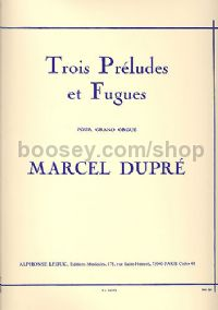 3 Preludes and Fugues, Op. 7