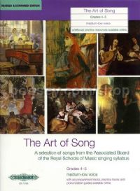 Art of Song Grades 4-5 (Medium-low Voice)