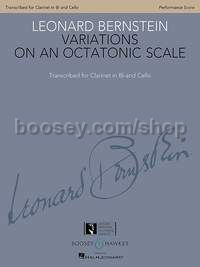 Variations on an Octatonic Scale for Bb Clarinet and Cello