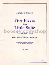 Five Pieces fom Little Suite for Horn & Piano