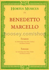 Sonatas for Treble Recorder & Basso Continuo Vol.I