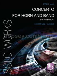 Concerto for Horn and Band (score & parts)