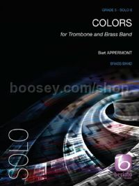 Colors for trombone & brass band (score & parts)