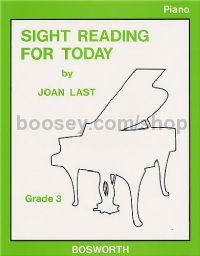 Sight Reading For Today: Piano Grade 3