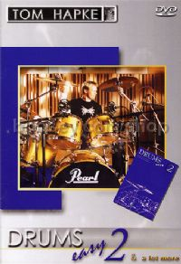 Easy Drums 2 (Book & DVD) (German Text)