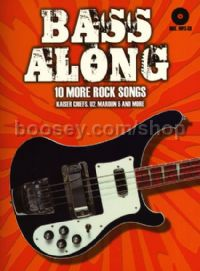 Bass Along Ii 10 More Rock Songs Eng/Ger (Bk & CD)