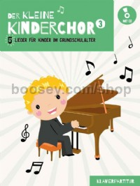 Der kleine Kinderchor 3 (Piano Accompaniment Book & CD)