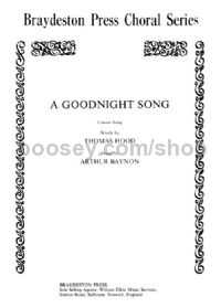 A Goodnight Song (Unison)