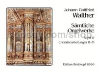 Complete Organ Works, Vol. 3: Chorale settings H - M - organ