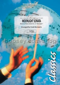 Moonlight Sonata (Fanfare Band Score & Parts)