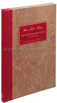 The Well-Tempered Clavier Book 1, BWV 846-869 (Facsimile hardback score)
