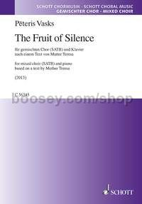 The Fruit of Silence (choral score)