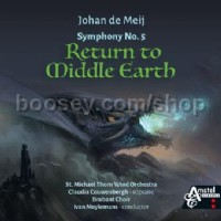 Symphony No. 5 Return to Middle Earth (CD)