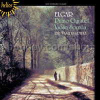 Piano Quintet in A minor Op 84/Violin Sonata in E minor Op 82 (Hyperion Audio CD)