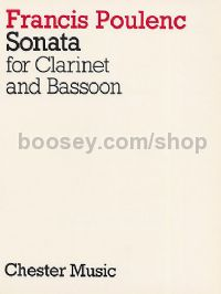 Sonata for Clarinet and Bassoon