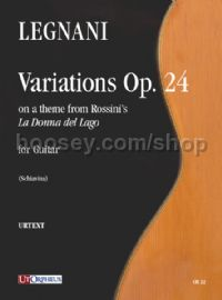 "Variations on a theme from Rossini's ""La Donna del Lago"" Op. 24 for Guitar"