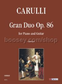 Gran Duo Op. 86 for Piano & Guitar (score & parts)