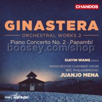 Orchestral Works 2: Piano Concerto No.2 Op.39 /Panambí, Op.1 (Chandos Audio CD)