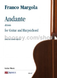 Andante (dC666) (guitar and harpsichord)