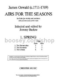 Airs For The Seasons, No.1: Spring