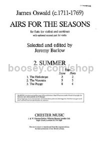 Airs For The Seasons, No.2: Summer