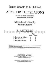 Airs For The Seasons, No.3: Autumn