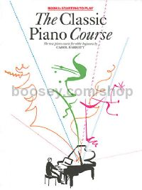 Classic Piano Course vol.1 Book Only