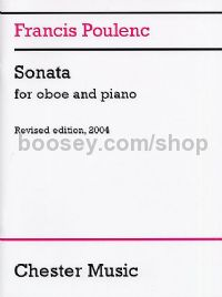 Sonata for Oboe and Piano (Revised edition, 2004)