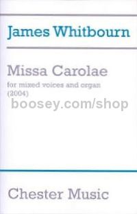 Missa Carolae (Vocal Score)