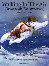 Walking In The Air (The Snowman) for voice & piano