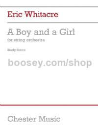 A Boy and a Girl (String Orchestra Study Score)