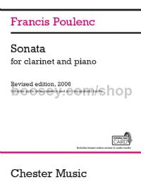 Sonata for clarinet and piano (Revised edition, 2006)