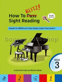How To Blitz! Sight Reading Book 3 (Piano)