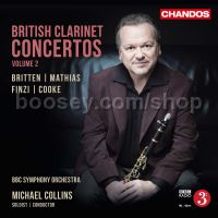 British Clarinet Concertos 2 (Chandos Audio CD)