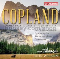 Orchestral Works, Vol. 3 - Symphonies (Chandos Audio CD)