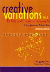 Creative Variations for Flute, Vol. 1 (+ CD)