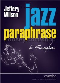Jazz Paraphrase for Saxophone