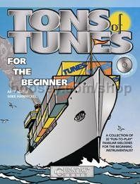 Tons of Tunes for the Beginner - Bassoon/Trombone/Baritone (Book & CD)