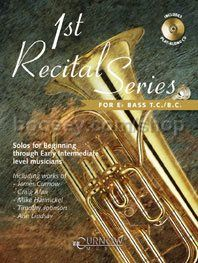 1st Recital Series for Tuba/Eb Bass (Book & CD)