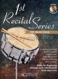 1st Recital Series for Snare Drum (+ CD)
