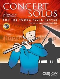 Concert Solos for the Young Flute Player - Flute (Book & CD)