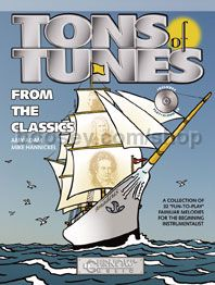 Tons of Tunes from the Classics for trombone, euphonium or bassoon (+ CD)