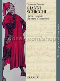 Gianni Schicchi  (Mixed Voices & Piano)