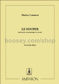 Le Souper (vocal score)